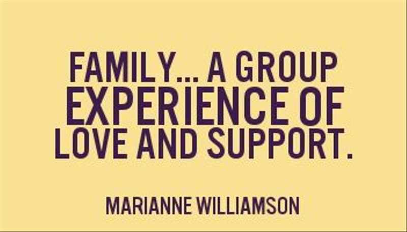 No family support quotes