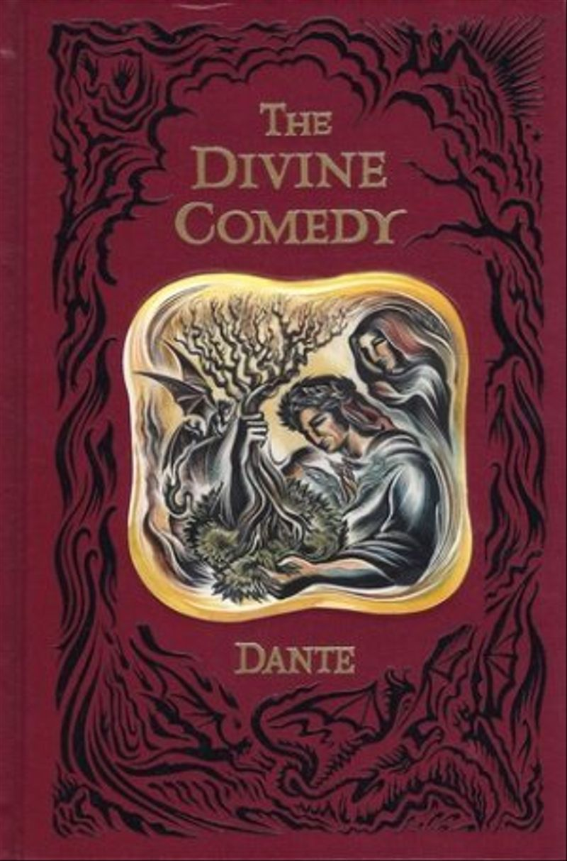 dantes the divine comedy The divine comedy is an epic poem (a poem that is very long, like a story) written by dante alighieri it is about a trip through the afterlife  the poem has three parts: inferno ( hell ), purgatorio ( purgatory ), and paradiso ( paradise , or heaven .