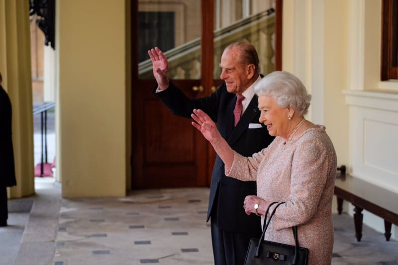 Ratu Elizabeth II dan Pangeran Philip