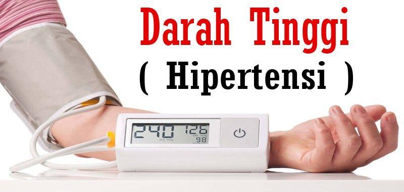 Menurunkan Hipertensi (Darah Tinggi) Tanpa Obat