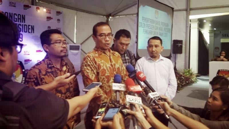 Anggota KPU, Hasyim Asyari, LO Koalisi Jokowi