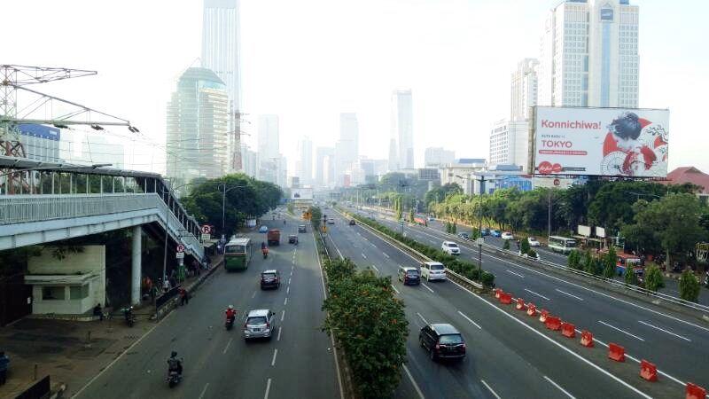 Jalanan di Sudirman