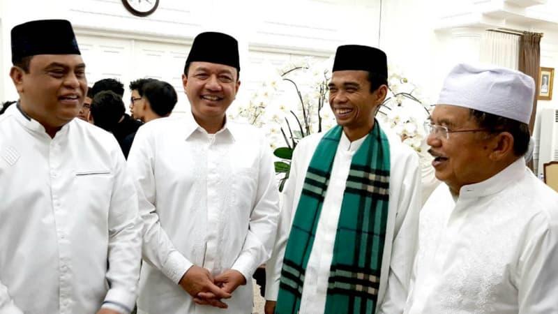 Budi Gunawan, Syafruddin, Ustaz Somad dan JK