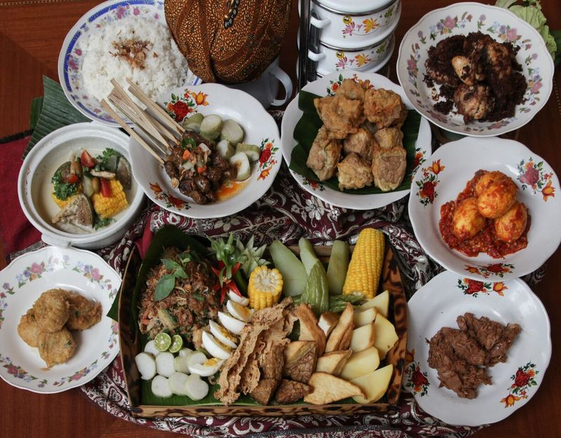 Menu Nusantara Sailendra Restaurant