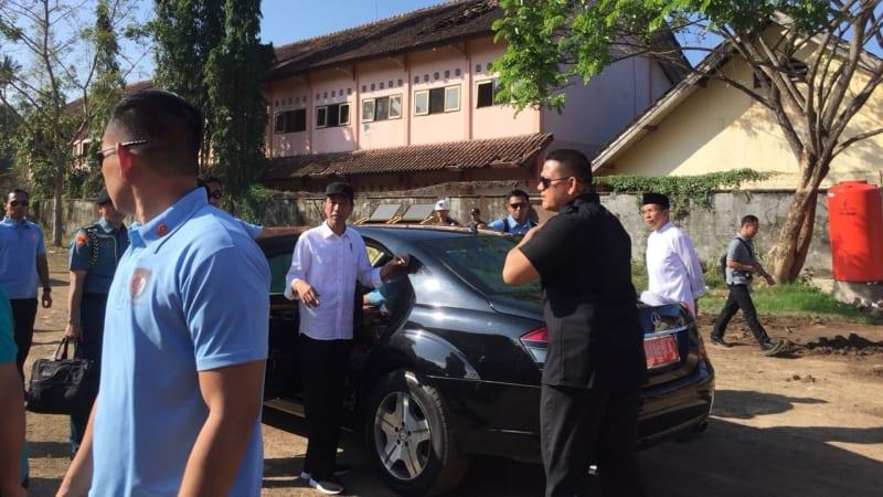 Apel bersama TNI, Polri, ASN, dan Relawan, Jokowi, Panglima TNI, Kapolri