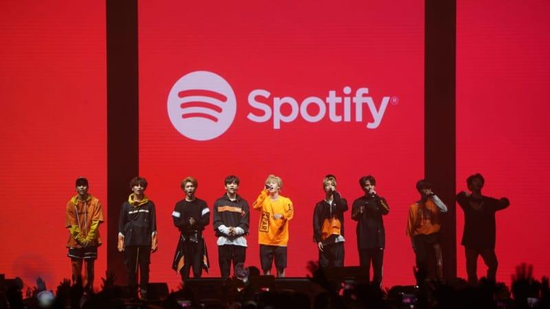 Stray Kids, Spotify