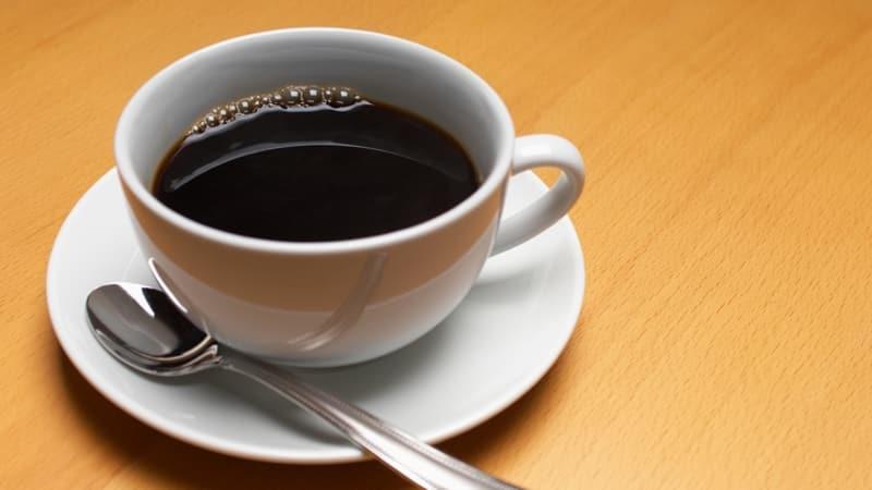 Ilustrasi secangkir kopi