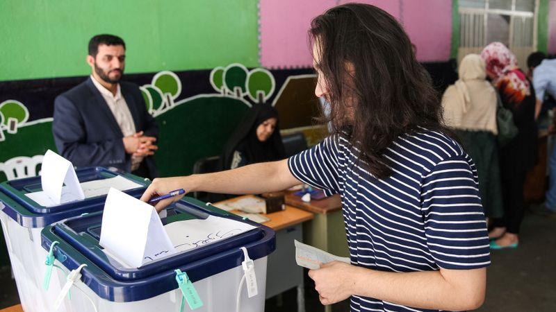 Pemilu di Iran.