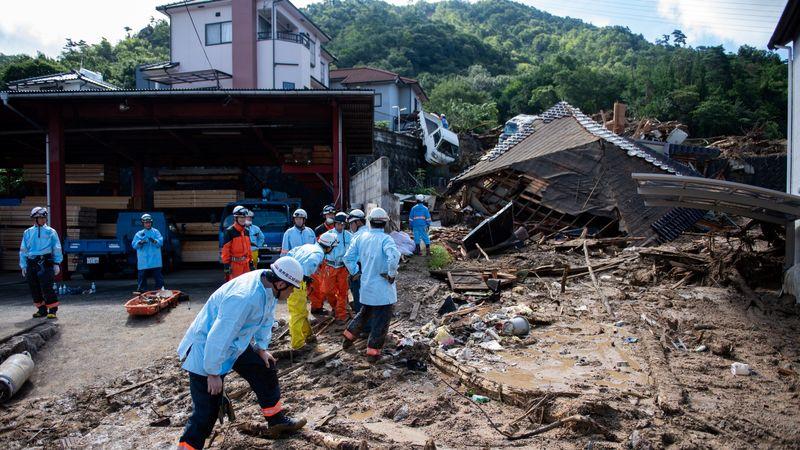 Bencana Banjir di Jepang
