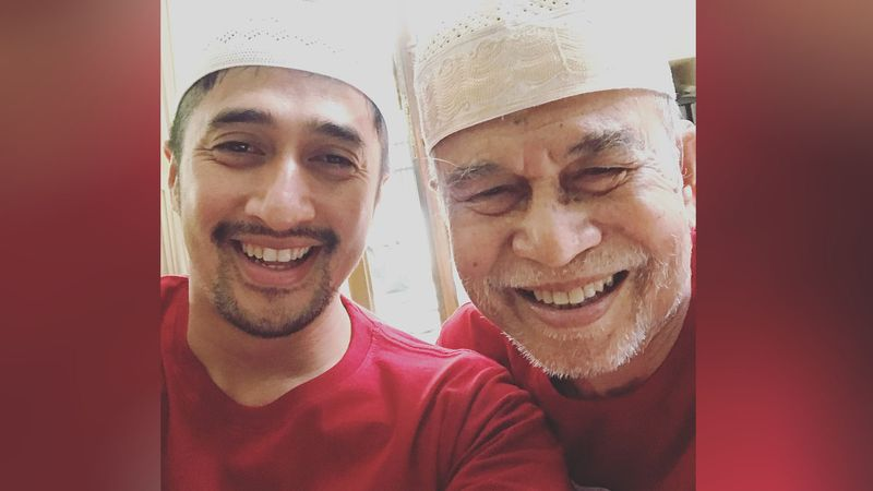 Irfan Hakim dan sang ayah