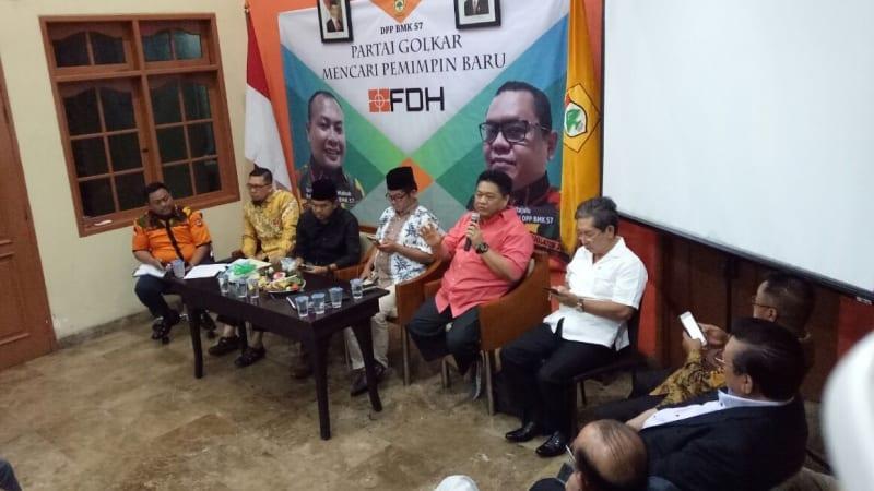 Diskusi Pimpinan Partai Golkar