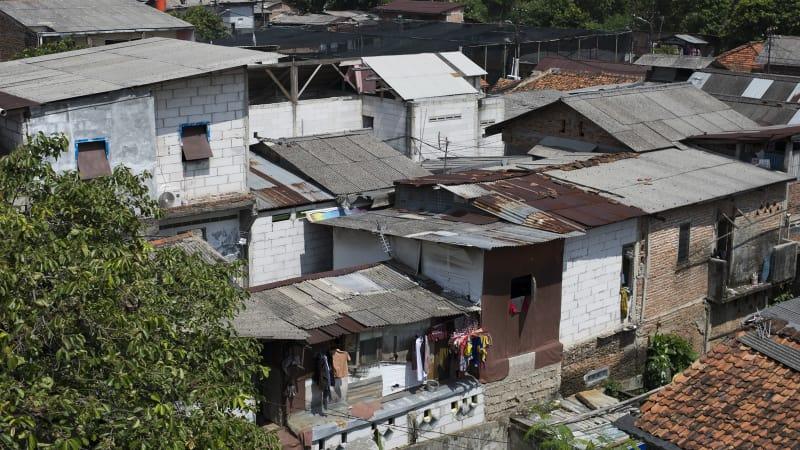 Pemukiman Beratap Asbes