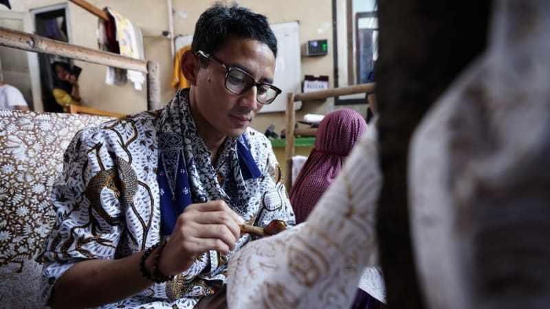 LIPSUS SANDIAGA UNO, Paoman Art, Batik Paoman, Indramayu