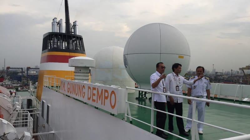 Kapal KM Gunung Dempo Pelni