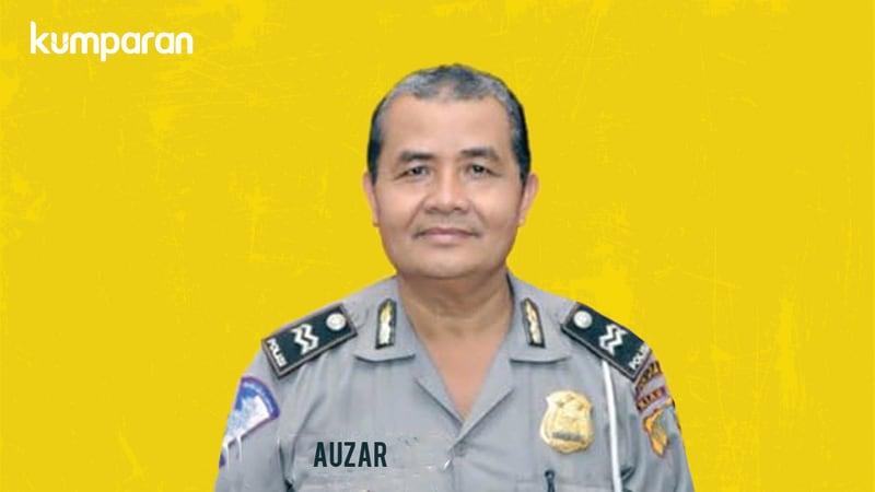 Ipda Auzar, polisi yang tewas di Mapolda Riau