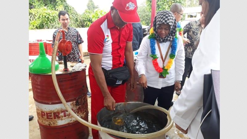Peresmian SPBU, Konawe, Sulawesi Tenggara