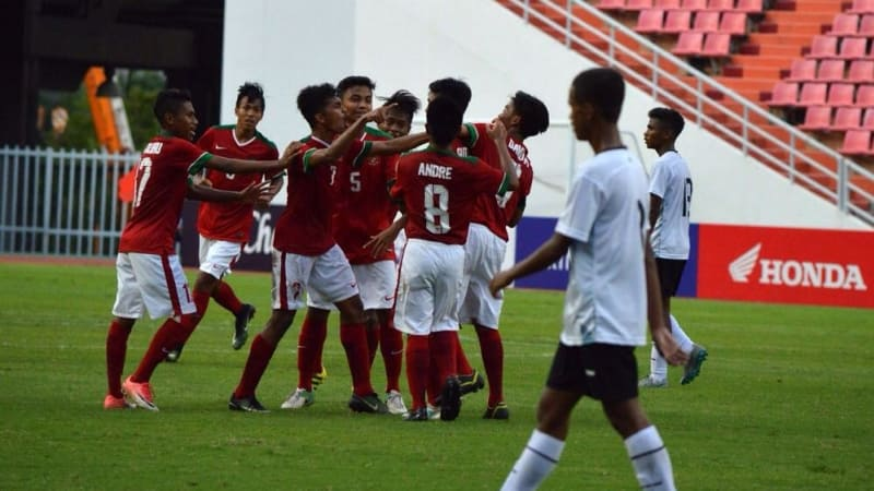 Timnas Indonesia U16 vs Timnas Timor Leste U16
