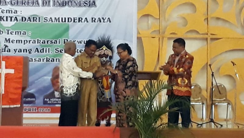 Pembukaan Konferensi Gereja dan Masyarakat Papua.