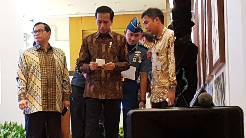 Presiden Jokowi Hadiri Peresmian Pengedaran Uang Baru 2016