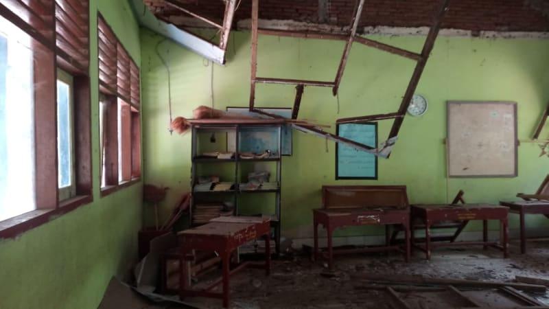 Sekolah gempa Lombok