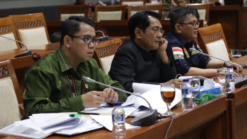 Suasana RDP KPK dan Komisi III