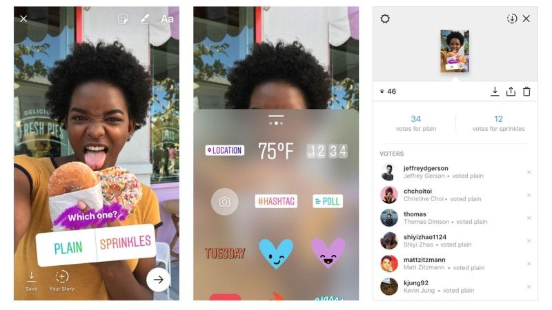Fitur Polling di Instagram Stories