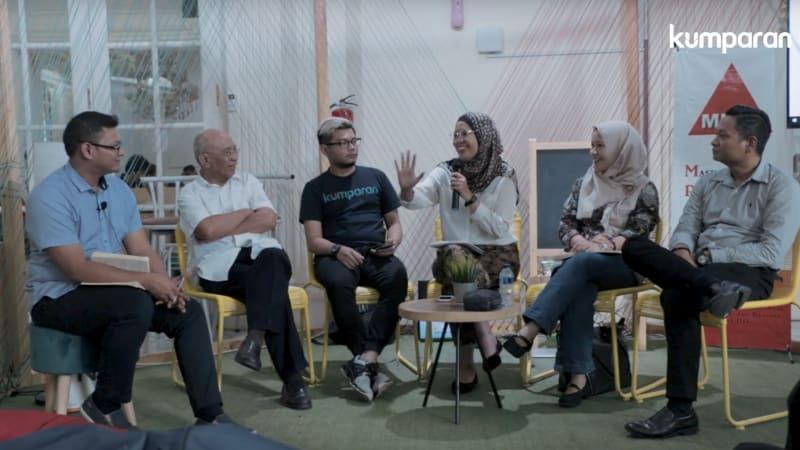 Diskusi MPBI dan kumparan