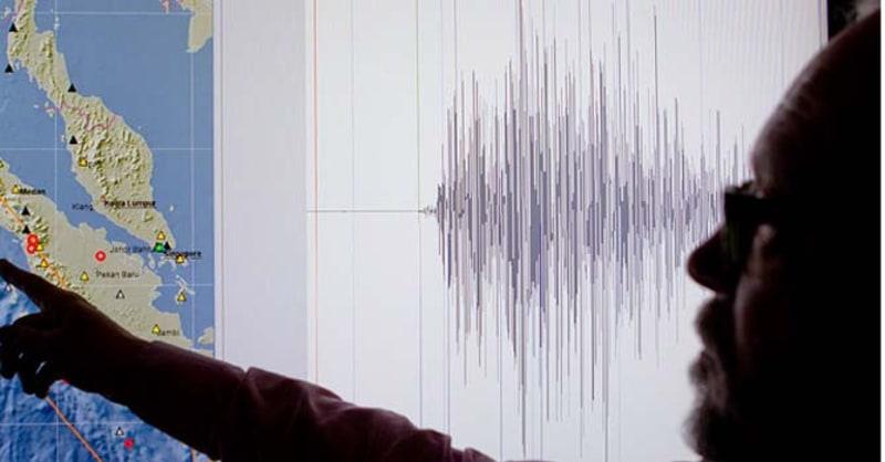Ilustrasi gempa