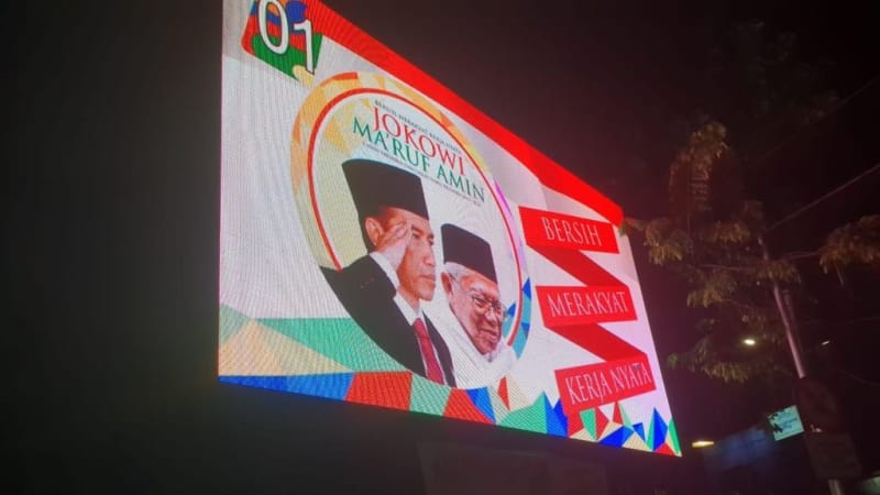 Polemik Videotron Jokowi - Ma'ruf: Langgar Aturan, Tapi Tak Disanksi