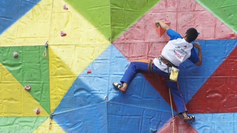 160 Atlet Ikuti Kejurnas Panjat Tebing