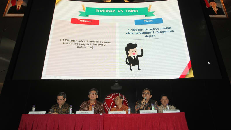 Public Expose PT Tiga Pilar Sejahtera Food