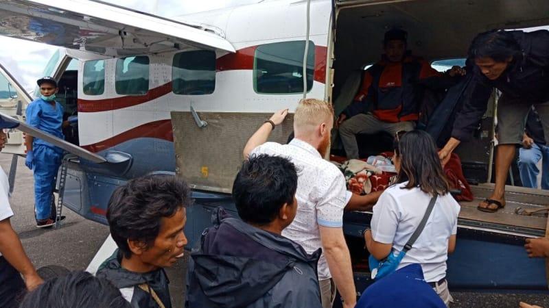 Evakuasi korban, Dimonim Air