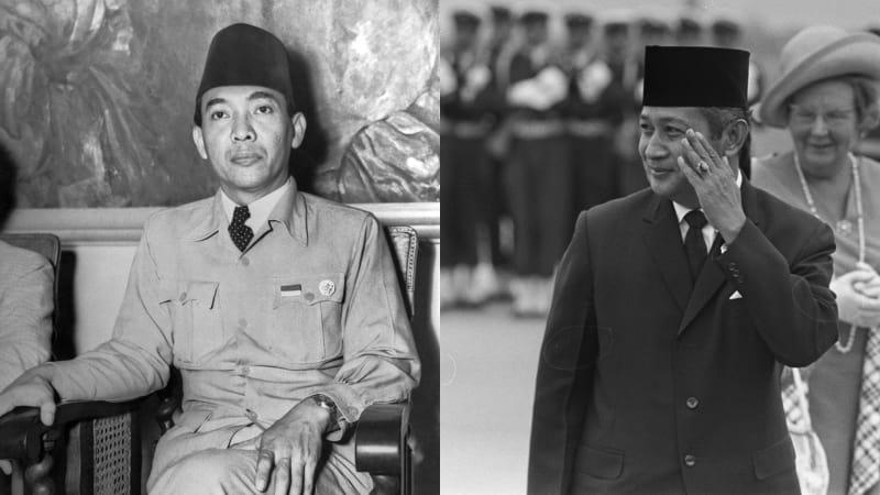 Sukarno dan Soeharto