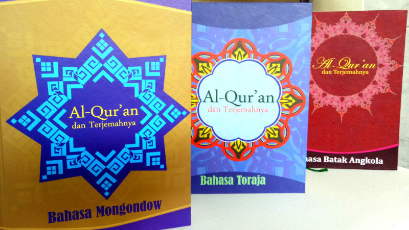 Kementerian Agama menerjemahkan Al-Qur'an ke dalam tiga bahasa