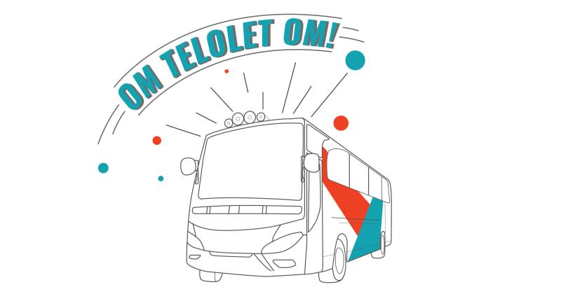 Ilustrasi Telolet