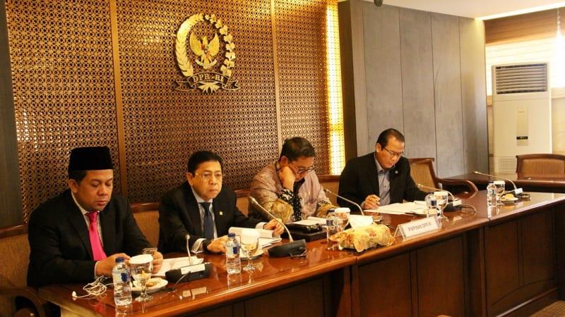 Setya Novanto di Rapat Pimpinan DPR RI