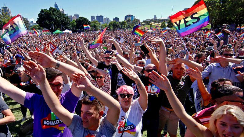 Australia setuju legalkan perkawinan sesama jenis