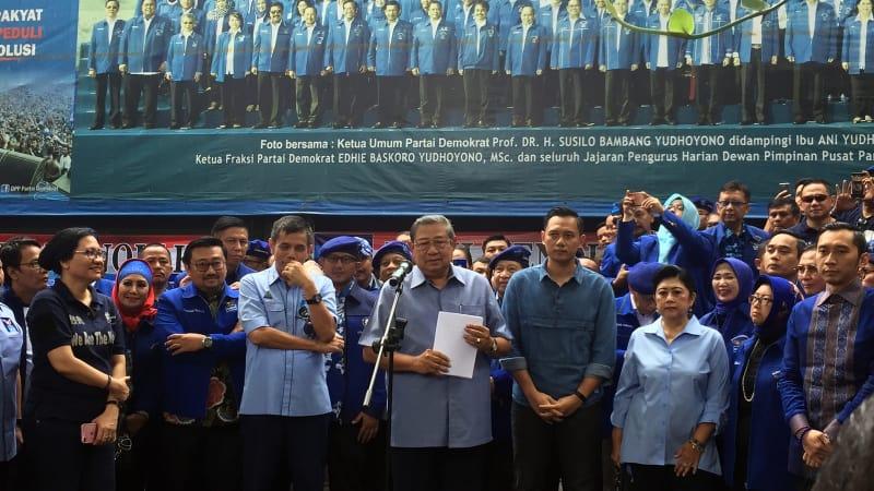 SBY pengarahan kader di DPP Demokrat