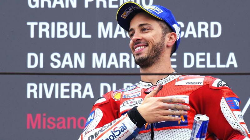 Andrea Dovizioso pebalap Ducati