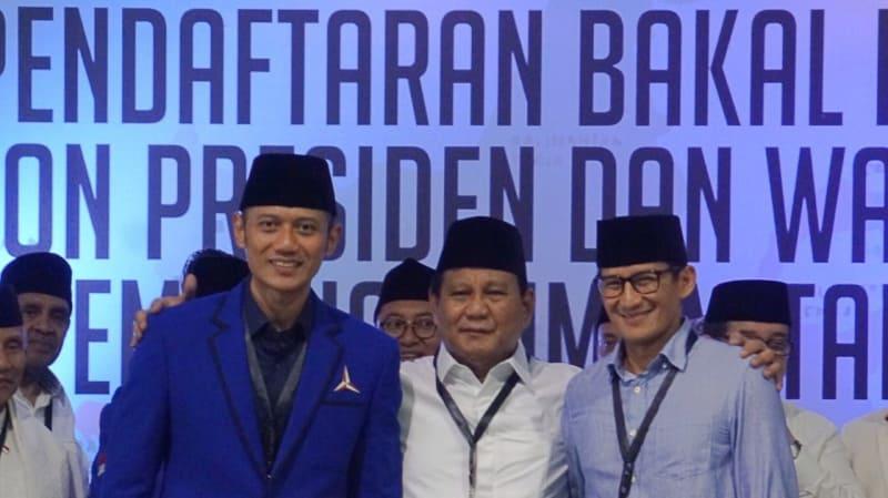 Lipsus, Duel Kedua Jokowi-Prabowo Prabowo dan Sandi, KPU, AHY