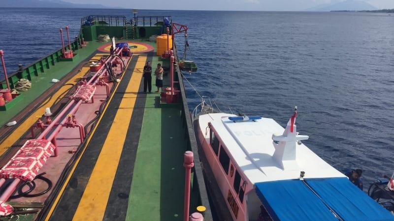 Patroli Laut Polairud Polda Maluku Utara