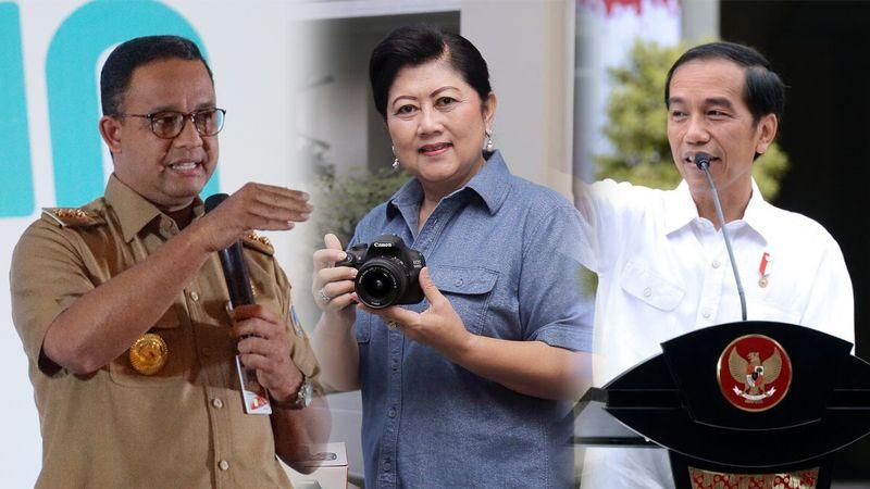 Anies, Ani Yudhoyono, dan Jokowi