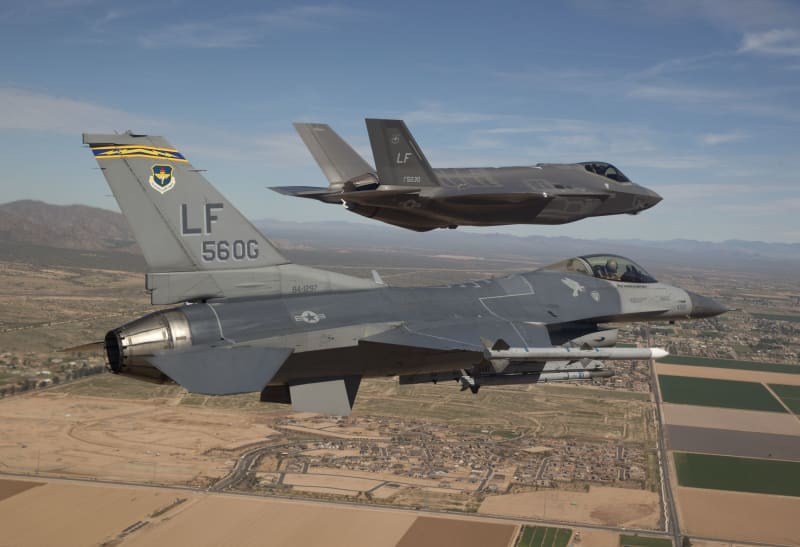Jet tempur F-35 buatan Lockheed Martin