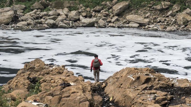 Sungai Citarum Tercemar