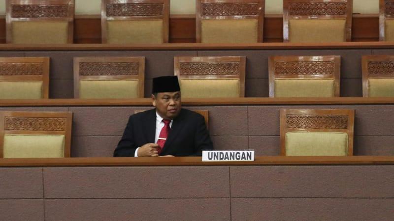 Pengesahan Ketua MK Arief Hidayat