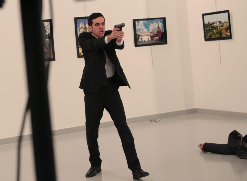 Pria Penembak Dubes Rusia