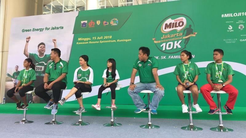 Jumpa Pers Milo Jakarta International 10K 2018