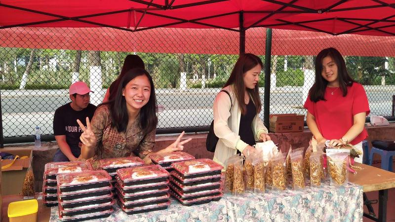 Tari Saman hingga Es Cendol 'Hipnotis' Warga Lokal dan Asing di China  kumparan