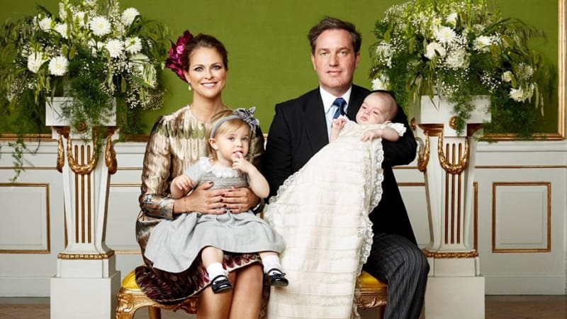 Putri Madeleine bersama Keluarga