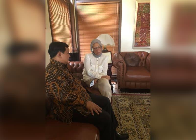 Ratna Sarumpaet Bertemu Prabowo
